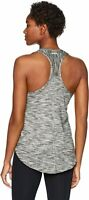 NWT Saucony Womens Gait Tank Space Dyed Racer Back Yoga Gym Sweat Wicking Top L