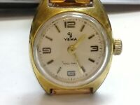 Yema Sous Marine FE 68, Femga 68. 5.75 x 6.75''' GP ladies Watch (BC606)