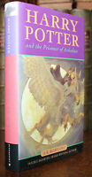 1999 HARRY Potter And The Prisoner of Azkaban First Edition First Issue HARDBACK