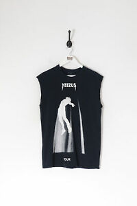 Kayne West Yeezus 2013/14 Tour T-Shirt Vest Black (M)