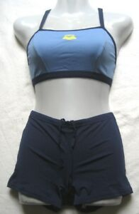arena Mädchen Damen Bikini Tankini  Gr 36 Navy Paleblue Primula 2435377