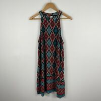 Jay Jays Womens Dress 12 Multicoloured Diamond Sleeveless