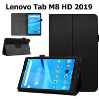 Leather Case For Lenovo Tab M8 HD 2nd Gen 2019 Magnetic Stand Book Smart Cover