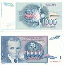 Jugoslawien / Yugoslavia - 1000 Dinara 1991 UNC - Pick 110