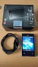 LG Optimus L3 E400 Teléfono. Funcionando. buen Estado, En Caja, cámara de 3MP, 1GB. (EE)