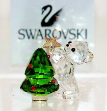 Swarovski Original Crystal Bear Christmas 5399267 New