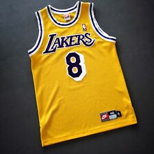 100% Authentic Kobe Bryant Vintage Nike Lakers Jersey Size 40 M Mens
