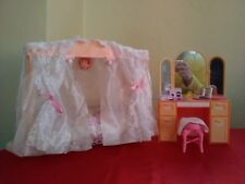 Barbie Pink Disco Ball Canopy Bed.