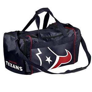 Houston Texans Duffle Bag Gym Swimming Carry On Travel Luggage Tote NEW
