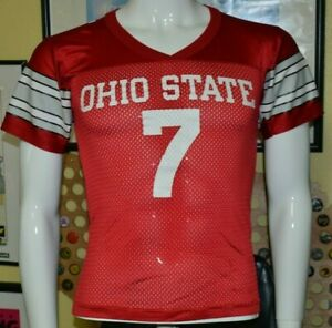 VTG Ohio State Buckeyes Champion Football Jersey Youth Small 8 Ginn Galloway OSU