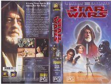 STAR WARS   VHS PAL VIDEO A RARE FND