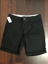 Jay Jays Black Mens Relaxed Fit Shorts Size  28 BNWT