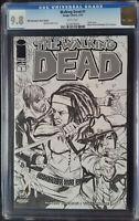 Walking Dead (2003 Image) #1 Wizard World Indianapolis Sketch CGC 9.8