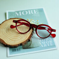 Reading Glasses Vintage Round Spring Hinges 1.0 1.5 2.0 2.5 3.0 A749