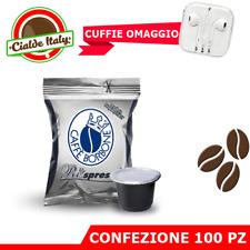 100 Cialde Capsule Caffè Borbone Respresso Miscela Nera e compatibile Nespresso