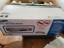 Samsung Real time and Time Lapse Vcr, Ssc-1280