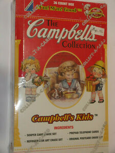 1995 The Campbell's Collection by Collect A Card - Unopened Box (36 Packs)
