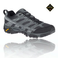 Merrell Mens MOAB 2 LTR GORE-TEX Walking Shoes - Grey Sports Outdoors Waterproof