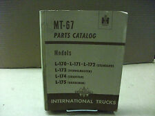 International truck Model L-170 - L-175 parts catalog MT-67