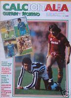 GUERIN SPORTIVO CALCIOITALIA 1982/83 POSTER !BUONISSIMO