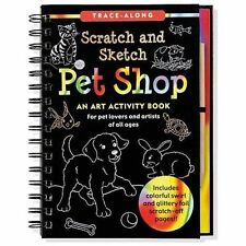 Pet Shop - Scratch and Sketch : An Art Activity Book for Creative Kids of All...