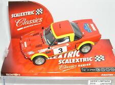 SCALEXTRIC FIAT 124 SPYDER III RALLY COSTA BRAVA D' HISTORICS 2006  LTED.ED  MB