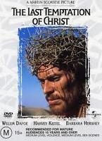 LAST TEMPTATION OF CHRIST DVD A SCORSESE FILM *NEW+SEALED* 6 DVDS GEN.REGION 4