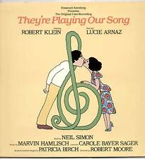 """MARVIN HAMLISCH ~ THEY'RE PLAYING OUR SONG (ORIGINAL CAST) ~ 1979 US """"PROMO"""" LP"""