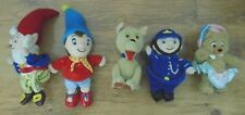 5 BLYTONs TOYLAND  NODDY & FRENDS BEANIES ,PLAY BY PLAY