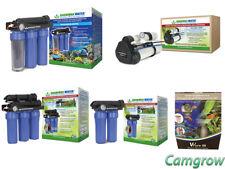 GrowMax Reverse Osmosis System's - 500, 1000, 3000, Maxquarium & V2 Pure 50 Unit