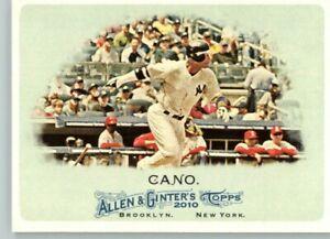 2011 Allen & Ginter #299 Robinson Cano- New York Yankees
