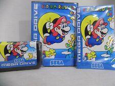 Super Mario World 64 Sega Genesis Mega Drive.