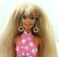 1976 Mattel Twist N Turn Barbie Doll Rooted Long Hair
