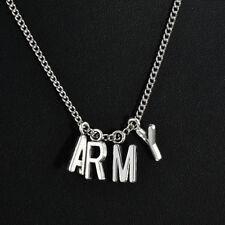KPOP BTS Jimin Necklace Bangtan Boys ARMY A.R.M.Y Pendant Chain Pendant 1PCS