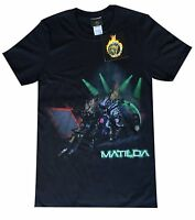 BBC Robot Wars MATILDA Adult T Shirts in Black Official Exclusive Merchandise