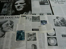 SIR DOUG SAHM - MAGAZINE CUTTINGS COLLECTION (REF X1A)