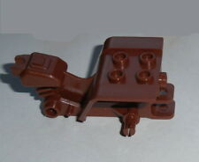 ACCESSORY Lego Tricycle 3 wheeler Body Reddish Brown NEW Chassis