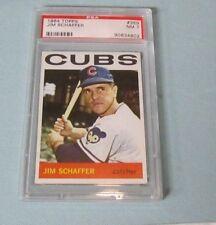 1964 Topps Jim Schaffer Graded Baseball Card #359 Chicago Cubs PSA 7 Near Mint