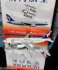 Schabak 1:600 Scale Diecast 926-54 Air Macau Airbus A320 New in Box