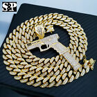 Hip Hop 37 RIP MARY Gun Pendant & 12mm 30