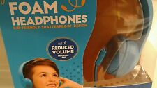 New Flexibile Foam Headphones for Kids Shatterproof  Safe Limit Volume Control