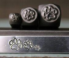 SUPPLY GUY Dog Paw 3 Stamp Metal Punch Design Stamp Set - SGCH-125/119/120