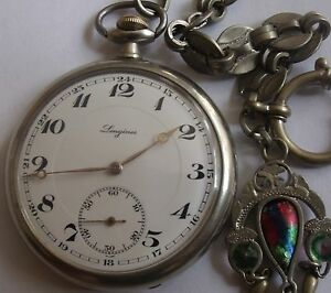 RARE  LONGINES SWISS POCKET WATCH