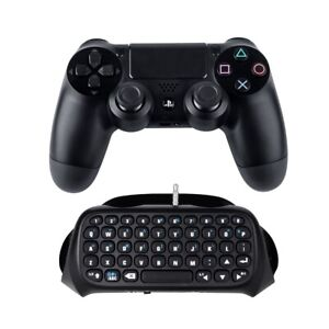 PS4, Slim,Pro controller keyboard Rechargeable Wireless Bluetooth Gaming Keypad