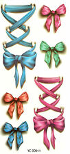 Waterproof Sexy Removable Temporary Tattoo DIY Butterfly knot lace Sticker 1PCS