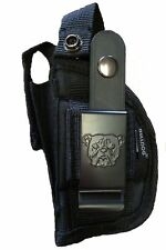 Bulldog Gun Holster For COBRA FS380 FS32  With Laser And Built-In Mag Pouch