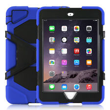 Shockproof Stand Rubber Case Cover For iPad 2 3 4 /Mini /Air 1 2 /Pro 9.7 /2017