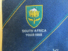 Forty Club XL South AFRICA Tour 1998 CRICKET Club Tie - SEE PICTURES