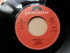The Who Dutch My Generation Substitute 45 Single