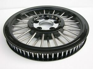 """DNA MAMMOTH SPOKE 70T 1-1/8"""" BLACK REAR BELT PULLEY TOURING SOFTAIL DYNA HARLEY"""
